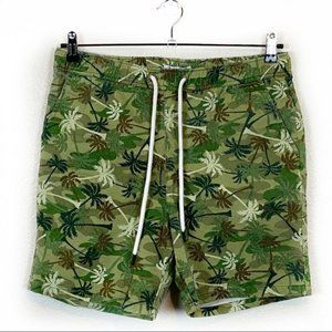 Sovereign Code Skeddadle Palm Camo Print Shorts SM
